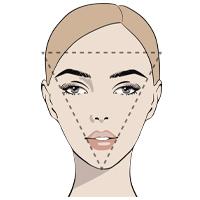 Треугольное лицо